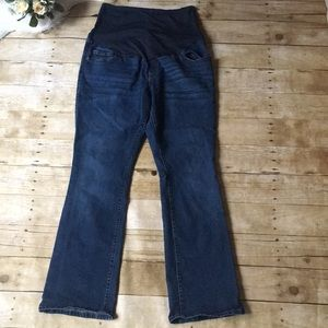 Old Navy Maternity Full Panel Bootcut Jeans Sz 14